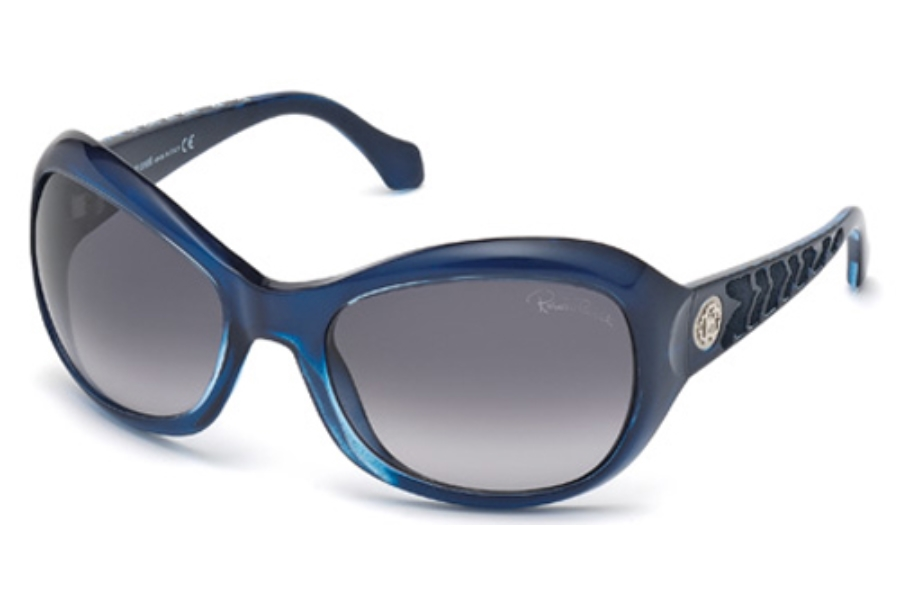 Roberto Cavalli RC794S Sunglasses in 92W Blue/Other / Gradient Blue