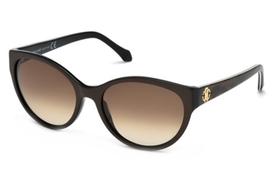 Roberto Cavalli RC824S Sunglasses in 50F Dark Brown/Other / Gradient Brown