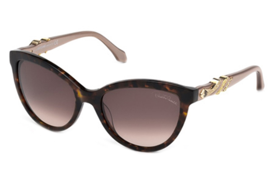 Roberto Cavalli RC878S Sunglasses in 52F Dark Havana / Gradient Brown