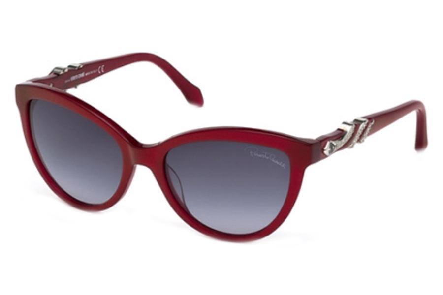 Roberto Cavalli RC878S Sunglasses in 68W Red/Other / Gradient Blue