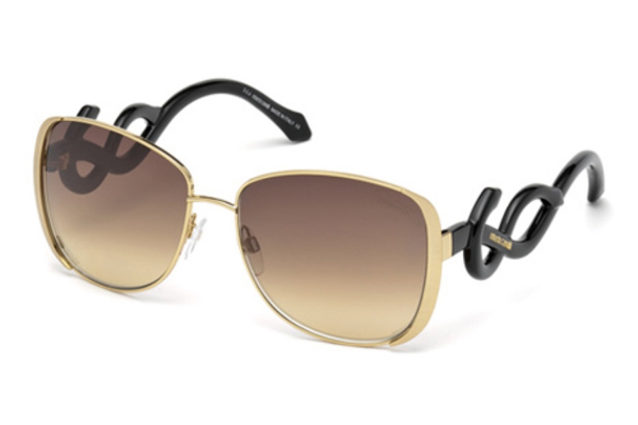 Roberto Cavalli RC910S Sunglasses in 28C Shiny Rose Gold / Smoke Mirror