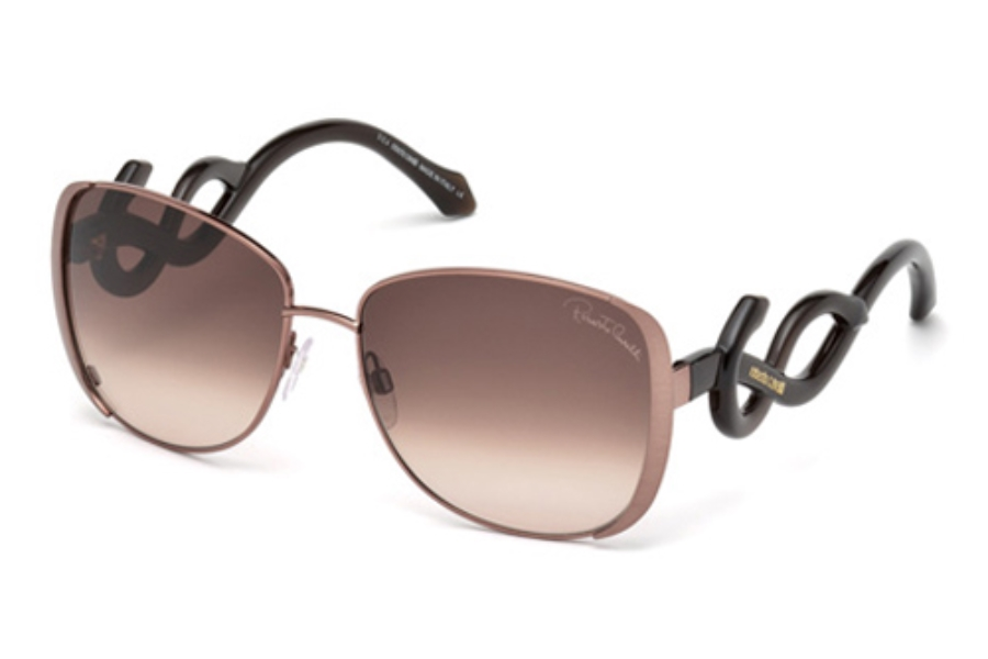 Roberto Cavalli RC910S Sunglasses in 34F Shiny Light Bronze / Gradient Brown