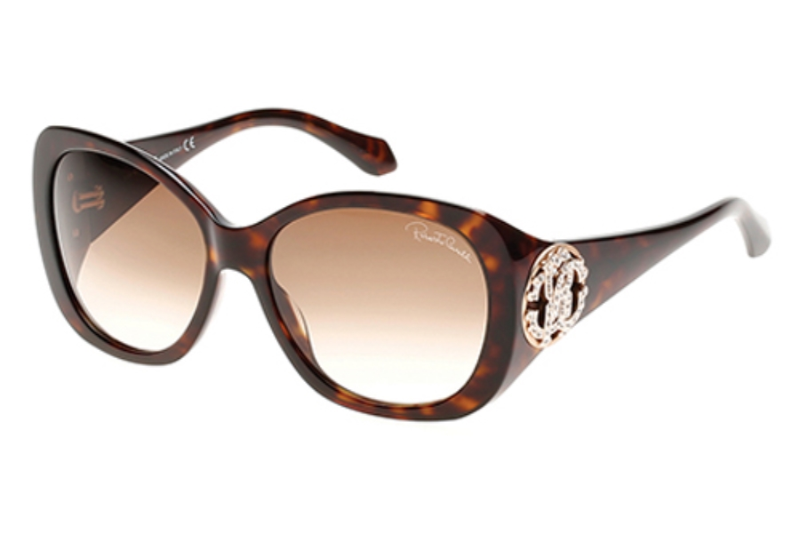 Roberto Cavalli RC916S-A Mirzam Sunglasses in 52F Dark Havana/Gradient Brown