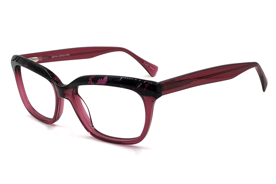 Royal Doulton RDF 203 Eyeglasses in Mulberry