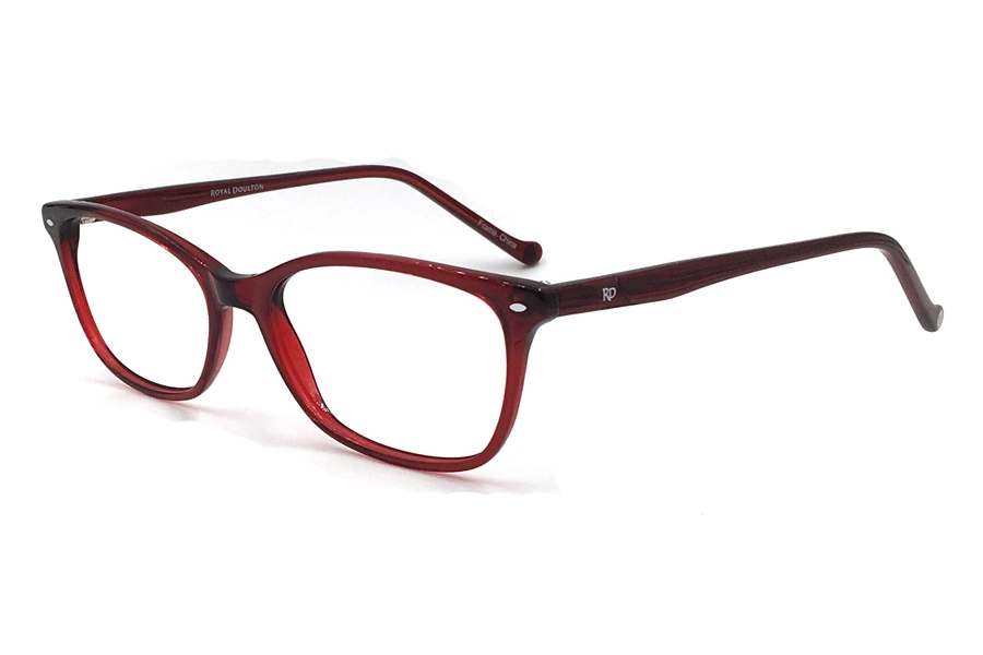 Royal Doulton RDF 252 Eyeglasses in Red Glass