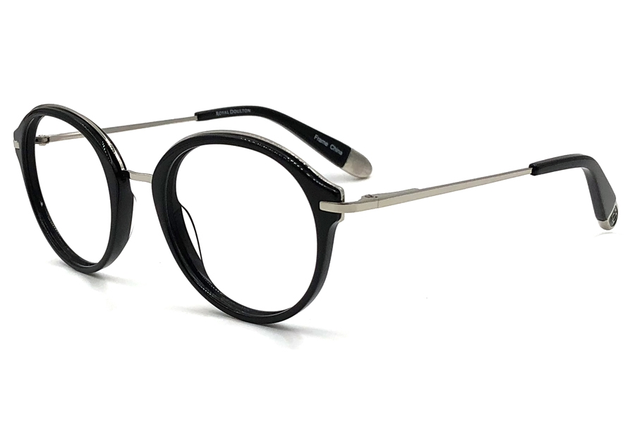 Royal Doulton RDF 270 Eyeglasses in Black Gunmetal