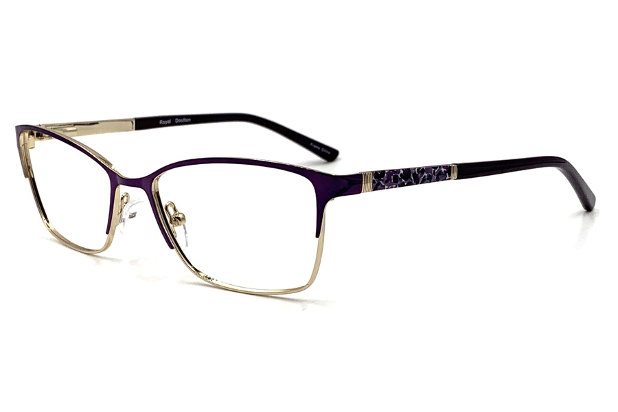 Royal Doulton RDF 280 Eyeglasses in Amethyst Gold