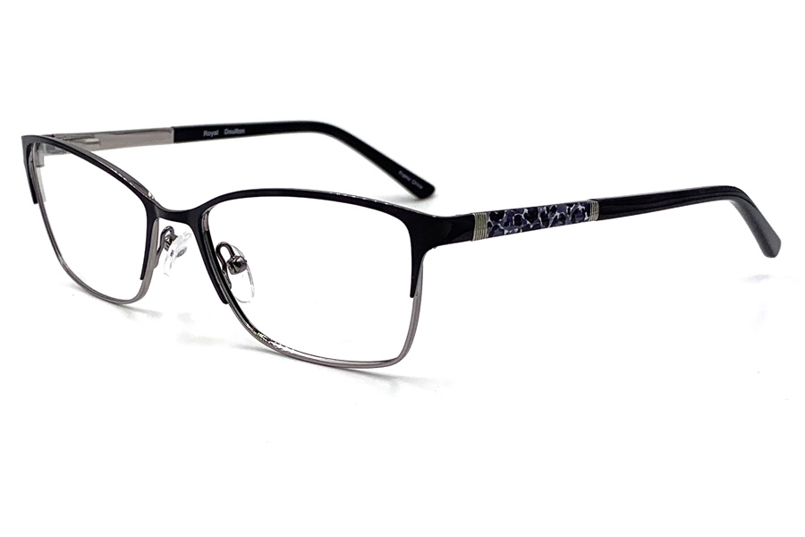 Royal Doulton RDF 280 Eyeglasses in Onyx Gun