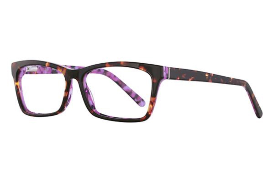 Romeo Gigli RG77013 Eyeglasses in Purple/Tortoise
