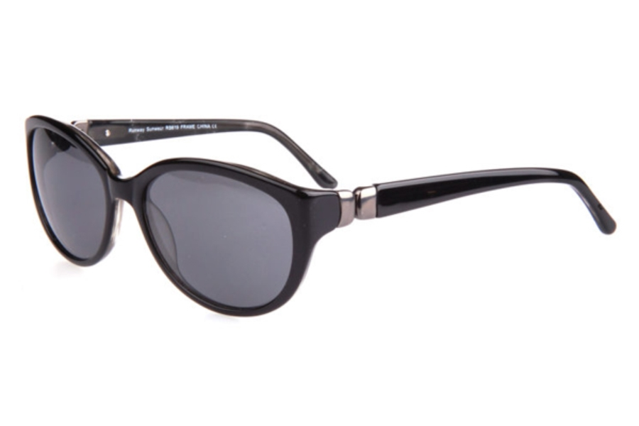 Runway RS 619 Sunglasses in Black w/ Smoke Lenses
