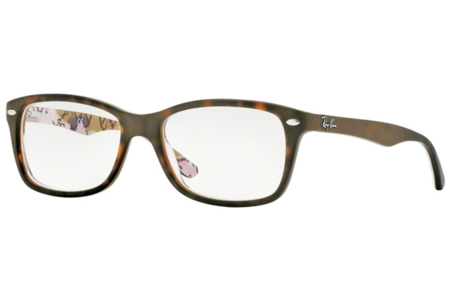 Ray-Ban RX 5228 Eyeglasses in 5409 Top Mat Havana Su Tex Camuflage (50 & 53 Eyesizes Only)