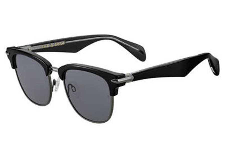 Rag & Bone Rnb 5007/S Sunglasses in 0284 Black Ruthenium (M9 gray cp pz lens)
