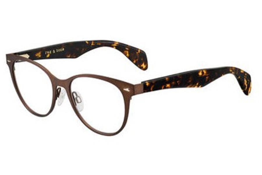 Eyeglasses Rag /& Bone Rnb 3002 0IIO Rose Gold Antique
