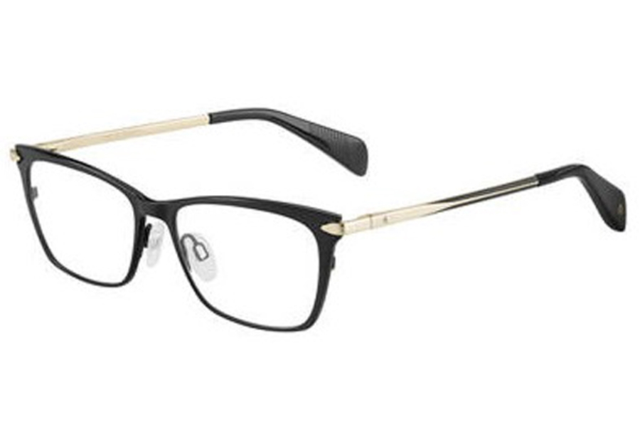 Eyeglasses Rag /& Bone Rnb 3007 0I46 Black Gold