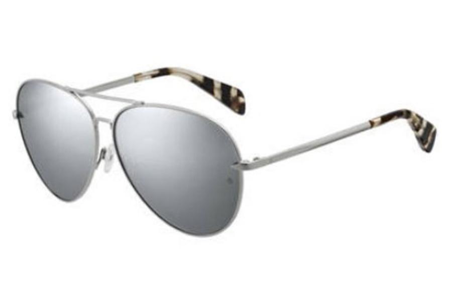 ad6c5b2a3c14 ... Rag & Bone Rnb 1006/S Sunglasses in 0010 Palladium (DC sup silver  mirror ...