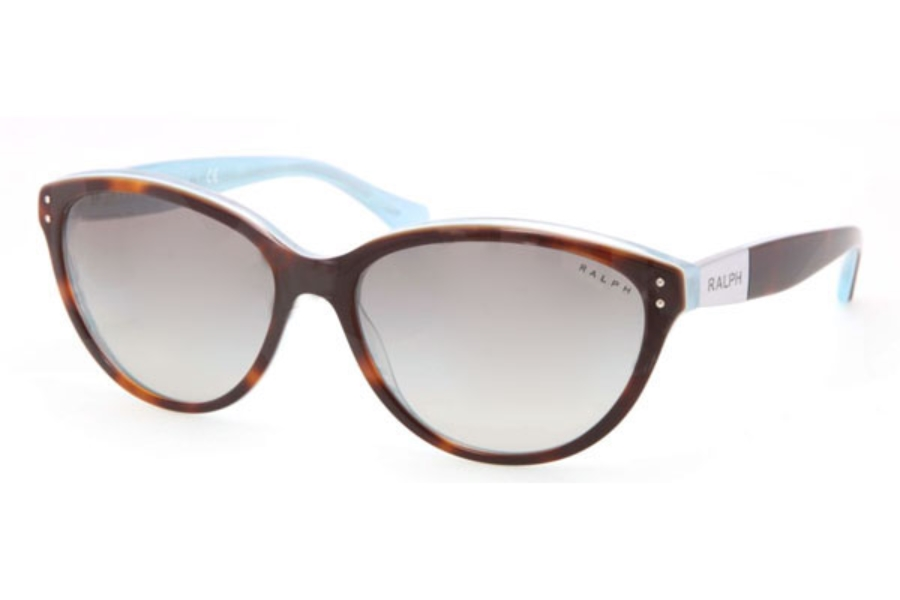 c7e422beb87 Ralph by Ralph Lauren RA 5168 Sunglasses in 601 11 Tort Turquoise Grey  gradient ...