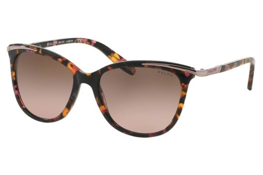 046b286bbab ... Ralph by Ralph Lauren RA 5203 Sunglasses in 146114 Pink Marble Brown  Rose Gradient ...