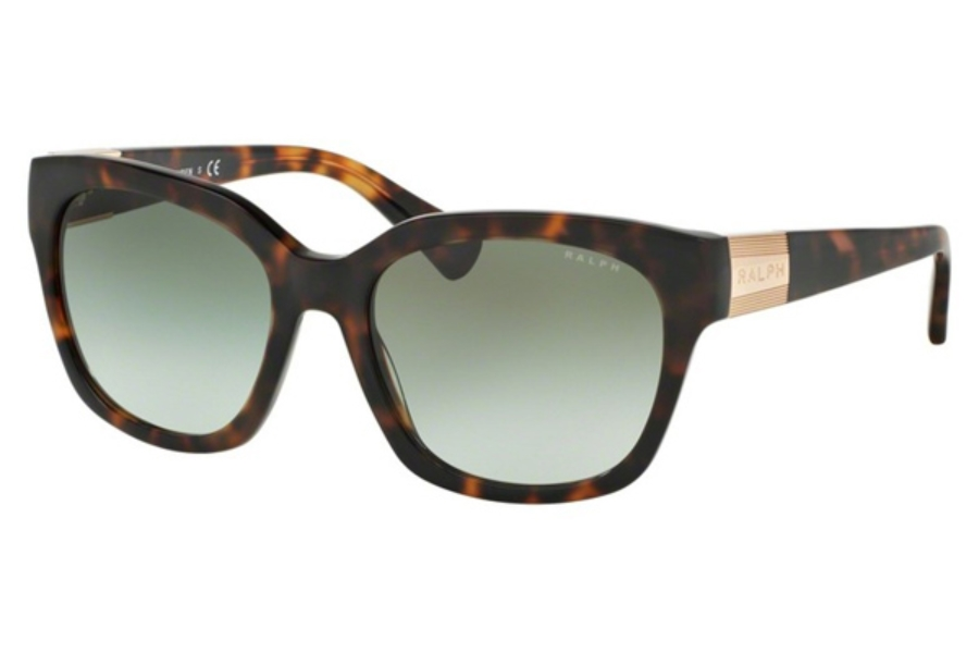 83cfbdbb28f ... Ralph by Ralph Lauren RA 5221 Sunglasses in 15858E Tortoise   Green  Gradient ...