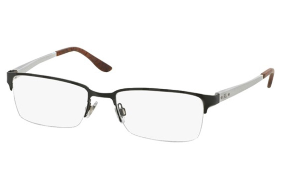 Ralph Lauren RL 5089 Eyeglasses in 9281 Semi Shiny Black