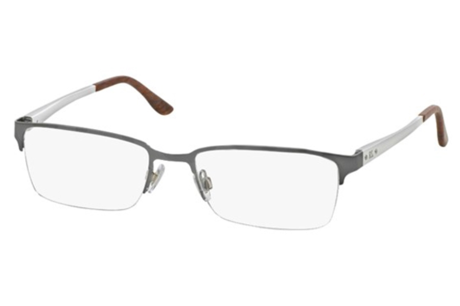 Ralph Lauren RL 5089 Eyeglasses in 9282 Semi Shiny Gunmetal