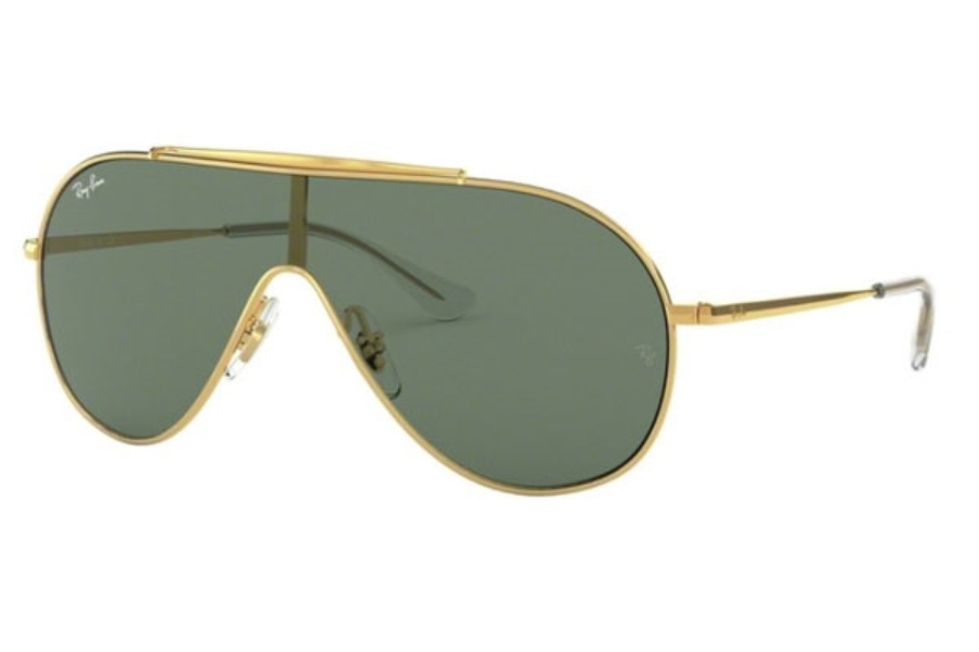 Ray-Ban Junior RJ 9546S Sunglasses in 223/71 Gold / Green