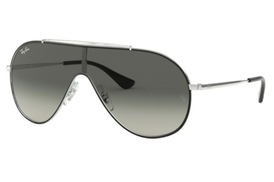Ray-Ban Junior RJ 9546S Sunglasses in 271/11 Silver / Grey Gradient