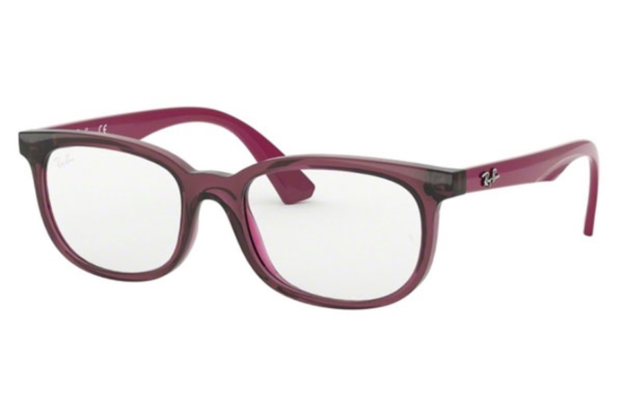 Ray-Ban Youth RY 1584 Eyeglasses in 3760 Trasparent Fuxia