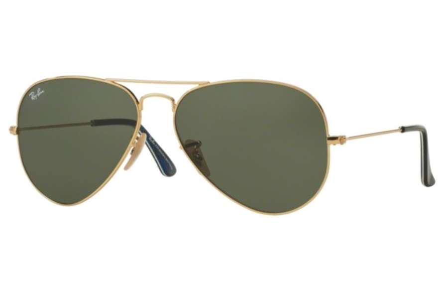 Ray-Ban RB 3025 (Aviator Large Metal with Mirrored Lenses) Sunglasses in Ray-Ban RB 3025 (Aviator Large Metal with Mirrored Lenses) Sunglasses