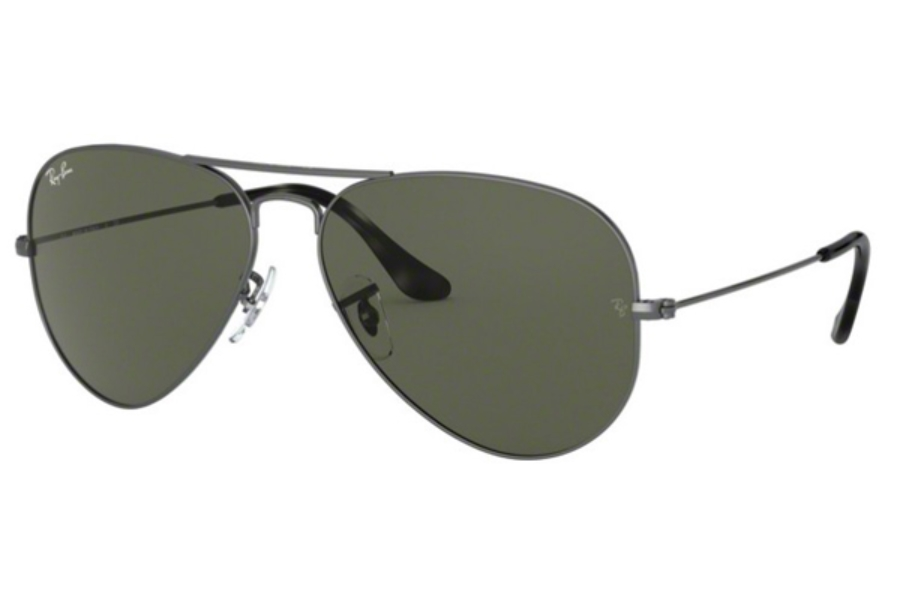 Ray-Ban RB 3025 (Aviator Large Metal) Continued Sunglasses in 919031 Sand Trasparent Grey / Green