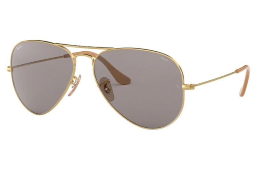 Ray-Ban RB 3025 (Aviator Large Metal) Continued Sunglasses in 9064V8 Gold / Grey