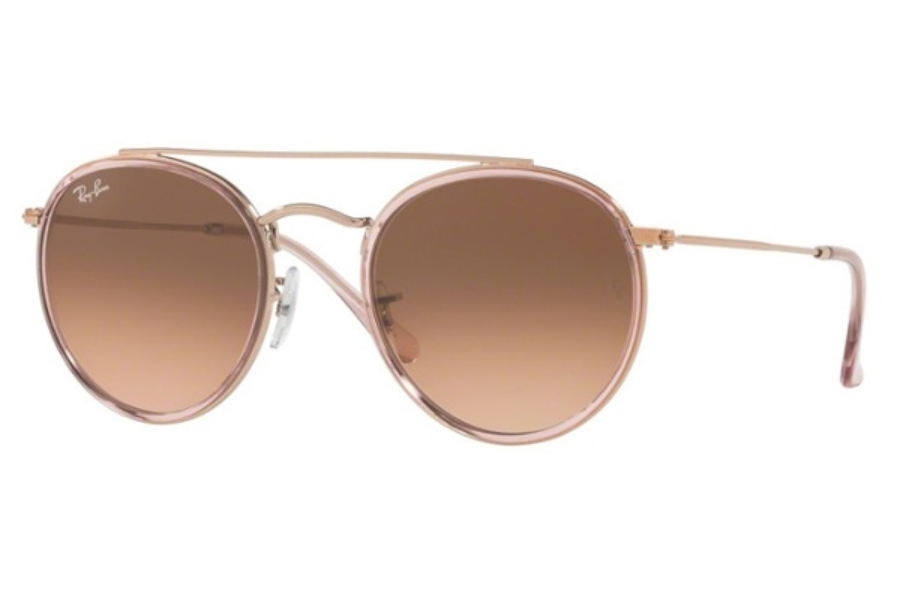 Ray-Ban RB 3647N Sunglasses in 9069A5 Pink / Pink Gradient Brown