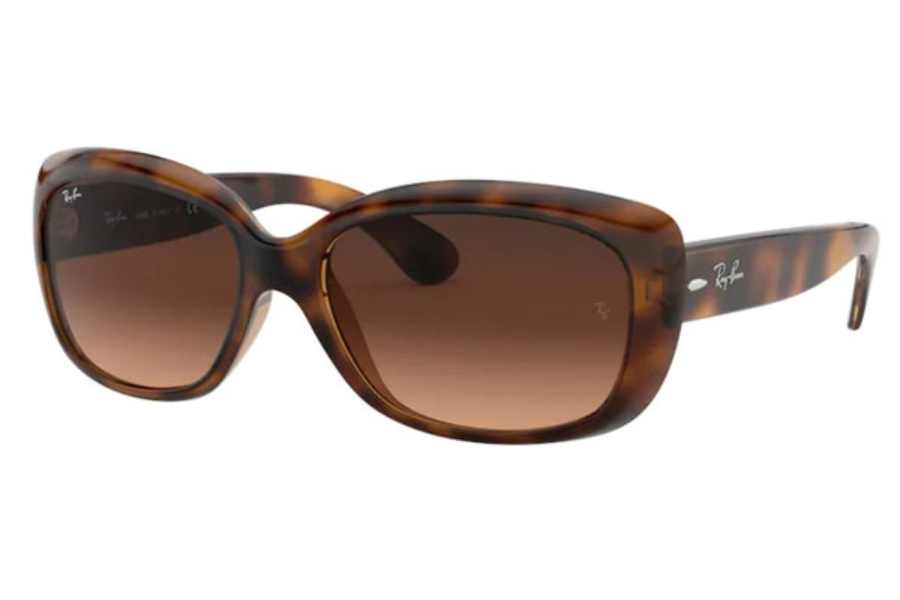 Ray-Ban RB 4101 JACKIE OHH Sunglasses in 642/A5 Havana / Pink Gradient Brown