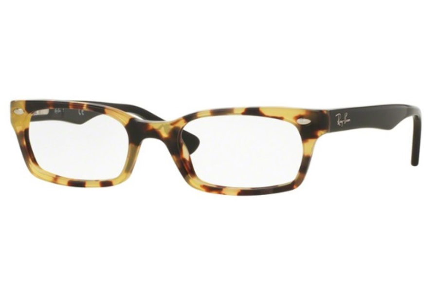 Ray-Ban RX 5150 Eyeglasses in 5608 Yellow Havana