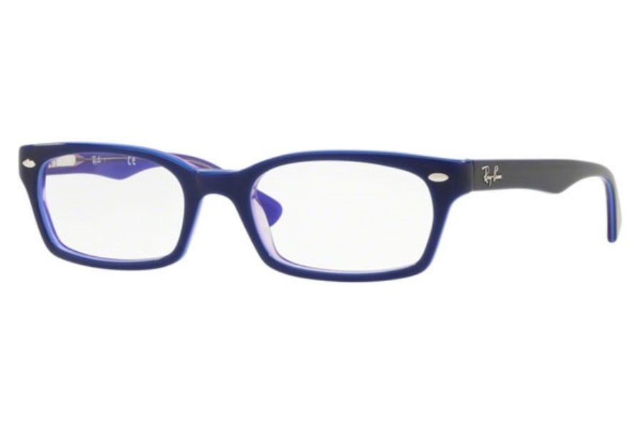 Ray-Ban RX 5150 Eyeglasses in 5776 Blue Trasparent Violet