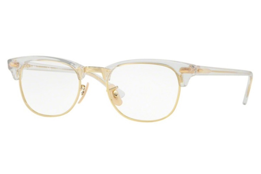 Ray-Ban RX 5154 Clubmaster Eyeglasses in 5762 Trasparent