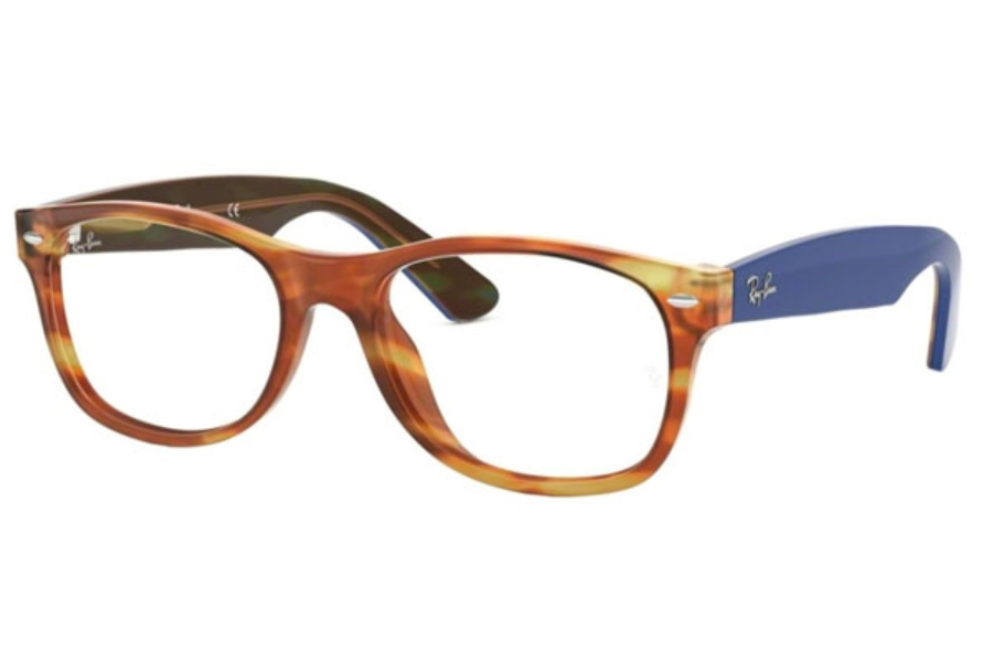 ca28fd79c1 ... Ray-Ban RX 5184 WAYFARER Eyeglasses in 5799 Light Brown Havana ...