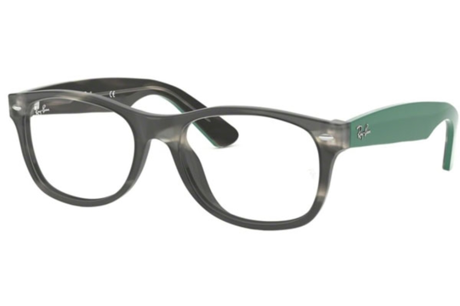 eb617432bf Ray-Ban RX 5184 WAYFARER Eyeglasses in 5800 Grey Green Havana ...