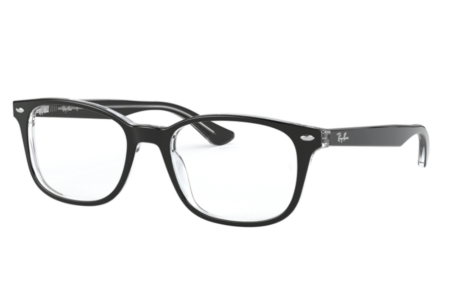 Ray-Ban RX 5375 Eyeglasses in 2034 Top Black On Transparent