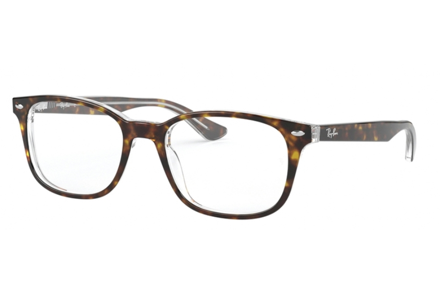 Ray-Ban RX 5375 Eyeglasses in 5082 Top Havana On Transparent
