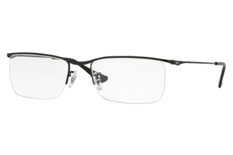 Ray-Ban RX 6370 Eyeglasses in 2509 Shiny Black (Discontinued)