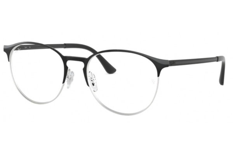 b5d7c62158 ... Ray-Ban RX 6375 Eyeglasses in 2861 Silver On Top Black ...