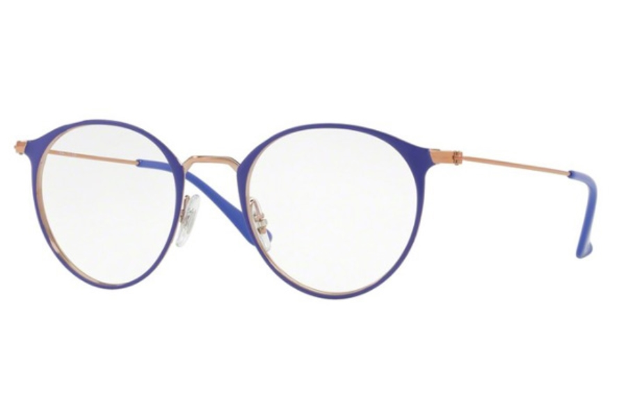 3522971485 ... Ray-Ban RX 6378 Eyeglasses in 2972 Copper On Top Violet ...