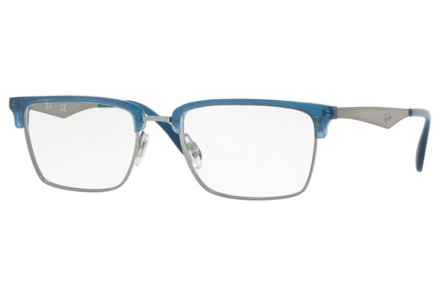 9f850a17565 ... Gold  Ray-Ban RX 6397 Eyeglasses in 2934 Gunmetal ...