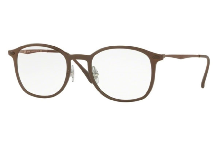 Ray-Ban RX 7051 Eyeglasses in 5688 Matte Brown