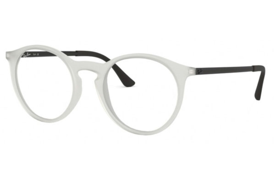 e7b44ed823 ... Ray-Ban RX 7132 Eyeglasses in 5781 Rubber Trasparent ...