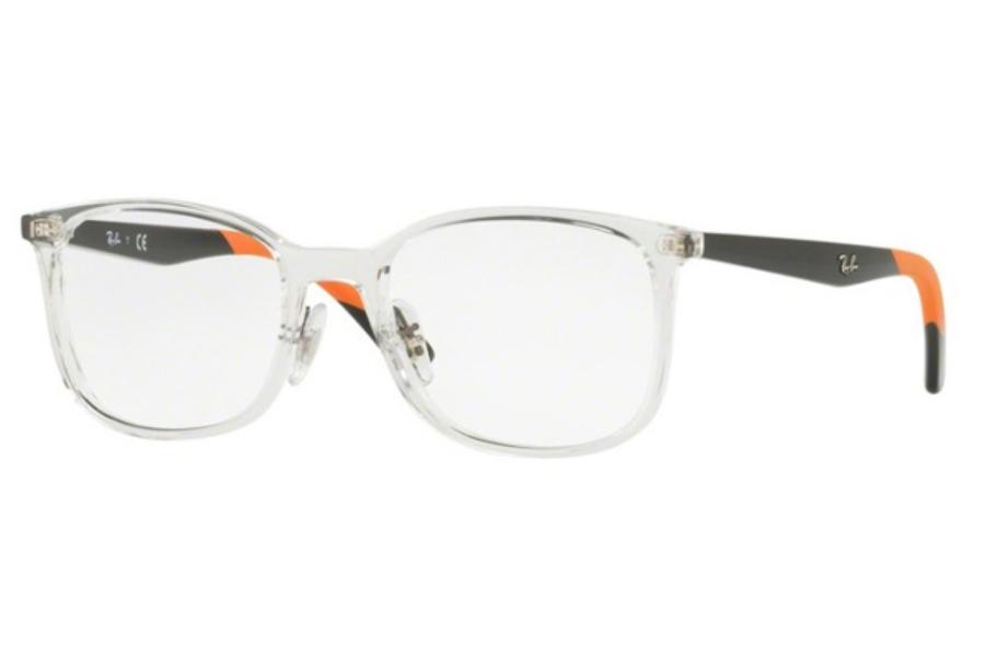 b3a465108f685 ... Ray-Ban RX 7142 Eyeglasses in 5759 Trasparent ...