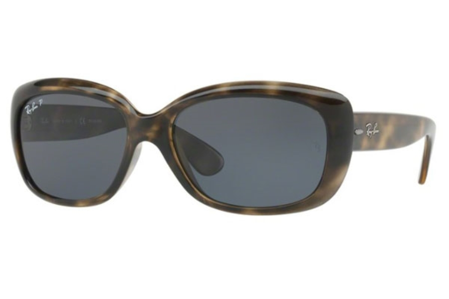 Ray-Ban RB 4101 JACKIE OHH Sunglasses in 731/81 Havana Grey / Grey Gradient Brown Polar