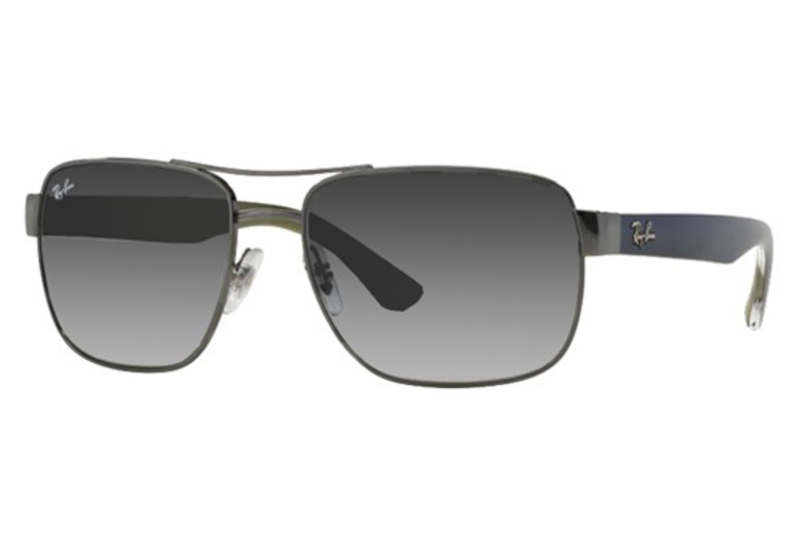 Ray-Ban RB 3530 Sunglasses in 004/8G Gunmetal Grey Gradient