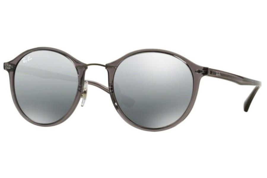 da115e6f734 ... Ray-Ban RB 4242 Sunglasses in 620088 Grey Grey Mirror Silver Gradient   Ray-Ban RB 4242 Sunglasses in 671 55 Shiny White   Green Mirror Blue ...