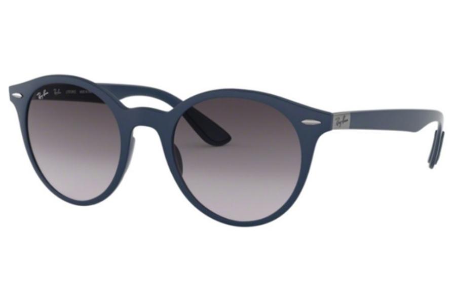 943fa2bb6d ... Ray-Ban RB 4296 Sunglasses in 63318G Matte Dark Blue Grey Gradient Dark  Grey ...